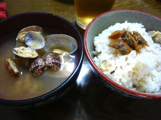 アサリ料理